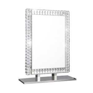 Volta Silver 20 x 28 Inch LED Mirror
