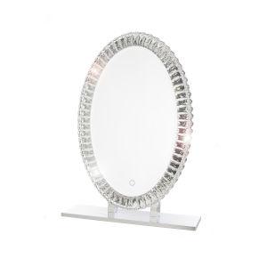 Volta Silver 20 x 30 Inch LED Mirror