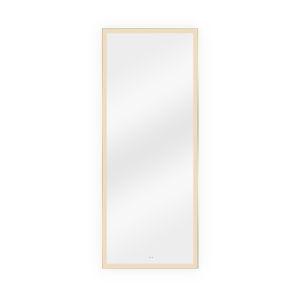 Maxwell Silver 24 x 60 Inch LED Mirror