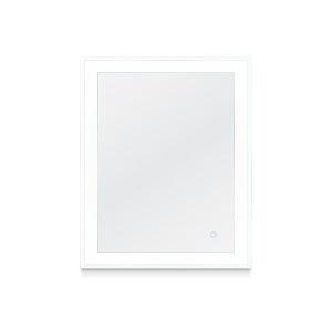 Faraday Silver 30 x 36 Inch LED Mirror