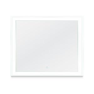 Faraday Silver 48 x 36 Inch LED Mirror