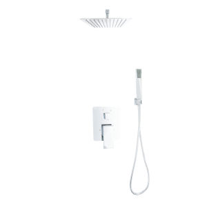 Uno Chrome Shower Faucet System with Hand Shower