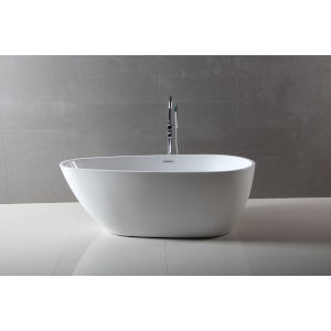 Maria Glossy White Freestanding Bathtub
