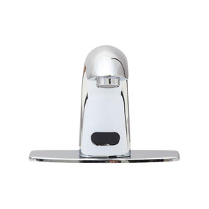 Trinidad Polished Chrome Motion Sensor Surface Mount Bathroom Faucet