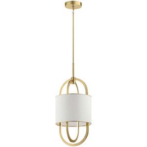 Jolana Champagne Gold LED Pendant