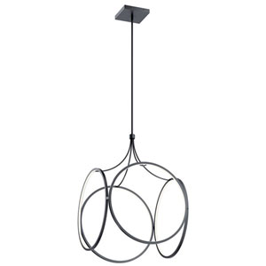 Ciri Matte Black LED Pendant