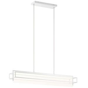 Vega White LED Mini Chandelier
