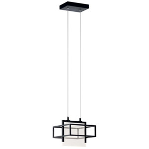 Vega Matte Black LED Mini Pendant