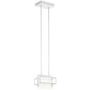 Vega White  LED Mini Pendant