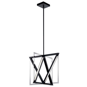 Axis Chrome 20-Inch LED Pendant