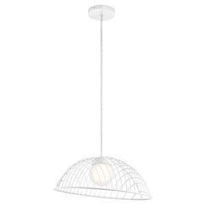 Clevo White 12-Inch LED Pendant