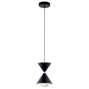 Kordan Gloss White LED Mini Pendant