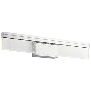 Laris Chrome 24-Inch LED Wall Sconce
