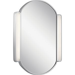 Phaelan Chrome LED Lighted Mirror