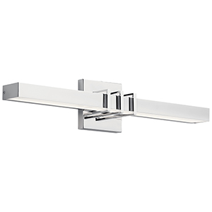 Alloy Chrome Two-Inch LED Wall Sconce