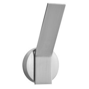 Follen Brushed Aluminum One-Light LED Wall Sconce