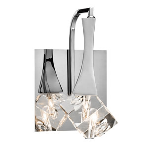 Rockne Chrome One-Light Wall Sconce