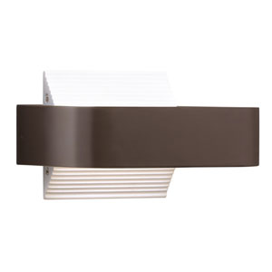 Berr Architectural Bronze One-Light Exterior LED Wall Sconce