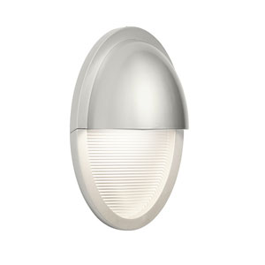 Conti Painted Platinum One-Light  Exterior LED Wall Sconce