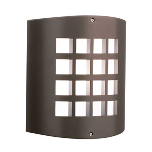 Eron Architectural Bronze One-Light  Exterior Wall Sconce