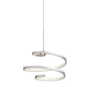 Tintori Oxidized Silver One-Light LED Pendant