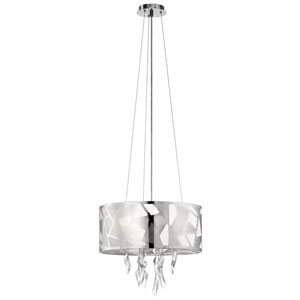 Angelique Chrome Six-Light Pendant