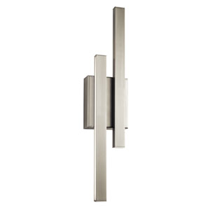 Idril Brushed Nickel LED Wall Sconce