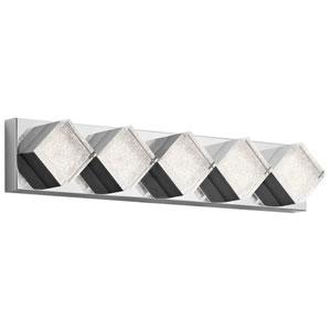 Gorve Chrome LED 32-Inch Vanity