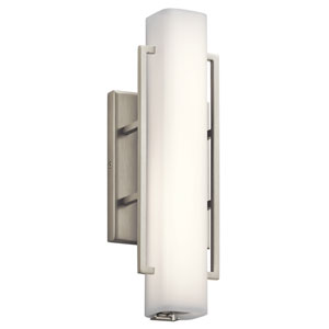 Perov Brushed Nickel LED Wall Sconce