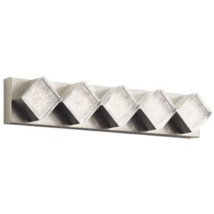 Gorve Brushed Nickel LED 36-Inch Vanity