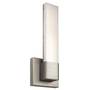 Neltev Satin Nickel LED Wall Sconce