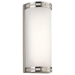 Vivela Brushed Nickel LED 14-Inch Wall Sconce