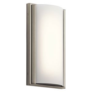 Bretto Brushed Nickel LED One-Light Bath Sconce