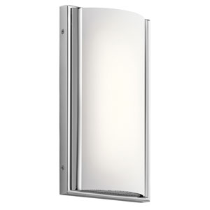 Bretto Chrome LED One-Light Bath Sconce