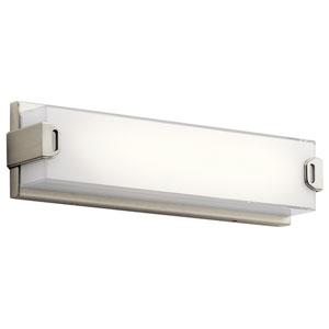 Xeo Brushed Nickel LED 18-Inch One-Light Bath Sconce