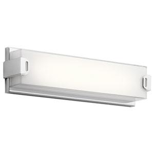 Xeo Chrome LED 18-Inch One-Light Bath Sconce