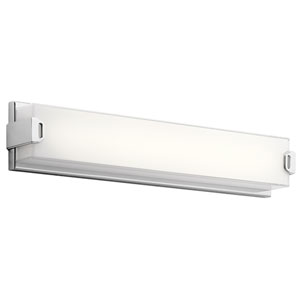 Xeo Chrome LED 24-Inch One-Light Bath Sconce
