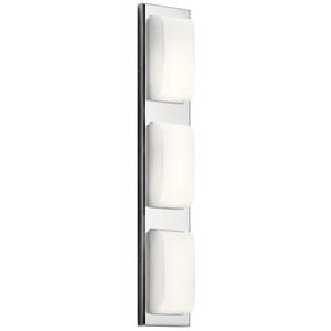 Kelsi Chrome 27-Inch LED Vanity