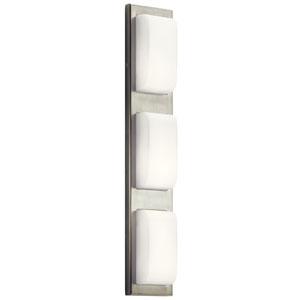 Kelsi Brushed Nickel 27-Inch LED Vanity