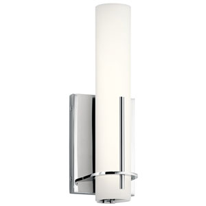 Traverso Chrome LED Bath Sconce