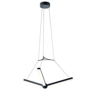 Enterprise Charcoal LED Pendant