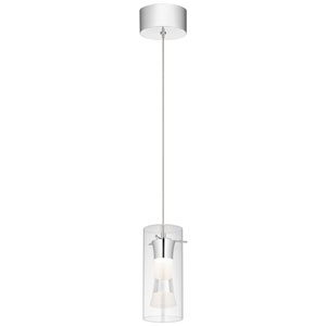 Venzano Chrome 4-Inch LED Mini Pendant