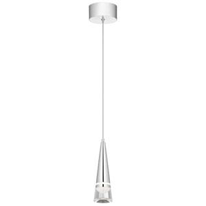 Venzano Chrome 3-Inch LED Mini Pendant