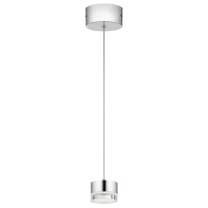 Avenza™ Chrome 3-Inch LED Mini Pendant