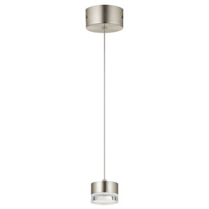 Avenza™ Brushed Nickel 3-Inch LED Mini Pendant