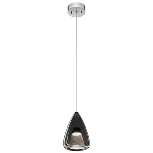 Zin Chrome 7-Inch LED Mini Pendant