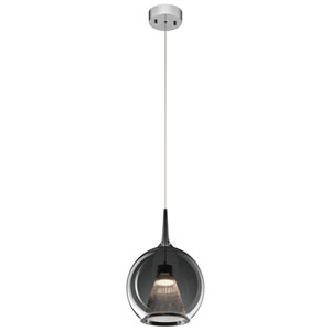Zin Chrome 10-Inch LED Mini Pendant