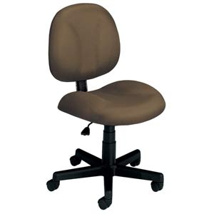 Taupe Fabric Computer Superchair