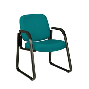 Teal Fabric Reception Chair