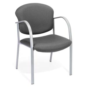 Guest and Reception Graphite Chair